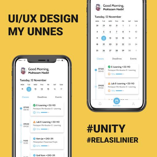 UI/UX Design My Unnes
