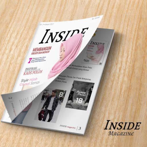 Layouting Majalah Inside Magazine